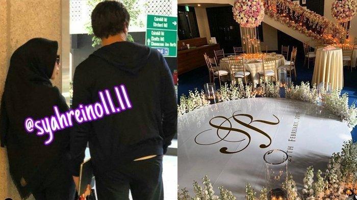 Mewahnya Pesta Syahrini dan Reino Barack Bocor, Ternyata Acaranya dari Sarapan Sampai Dinner, Lo!
