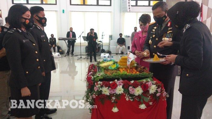 Peringatan Hari Jadi ke-75 Bhayangkara, Polda Bangka Belitung Adakan Syukuran Bersama Kapolri