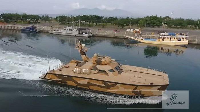Indonesia Sukses Bikin Tank Boat Pertama di Dunia, Ini Kehebatannya