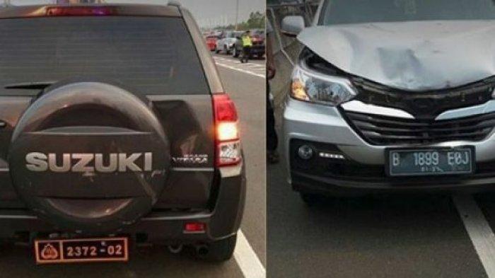 Tabrak Mobil Jenderal Polisi Hingga Penyok, Apa yang Dialami Pria Ini Sungguh Tak Disangka