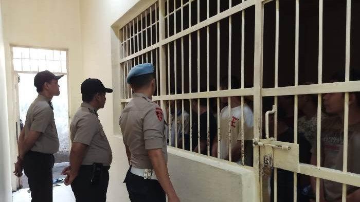 Propam Polres Bangka Perketat Kontrol Tahanan, Begini Aturannya Bagi yang Besuk Bawa Makanan