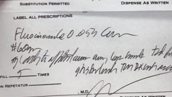 TULISAN Tangan Dokter Sulit Dibaca, Ternyata Begini Penjelasannya