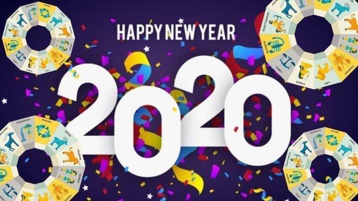 DOWNLOAD Gambar Ucapan Selamat Tahun 2020, Keren untuk Diposting dan Dibagikan pada Kolegamu