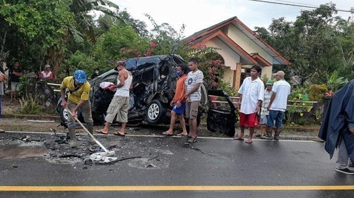 Pengaruh Alkohol, Pemuda Ini Ditetapkan Sebagai Tersangka Enam Tewas Tabrakan Maut Di Belitung Timur