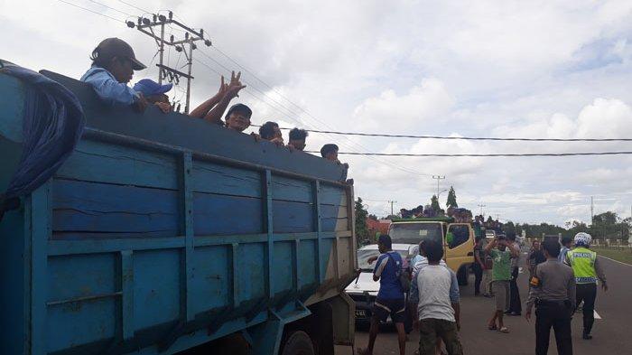 Demo Tolak Tambang Laut di Belitung, Diperkirakan Ribuan Massa Datangi Gedung DPRD