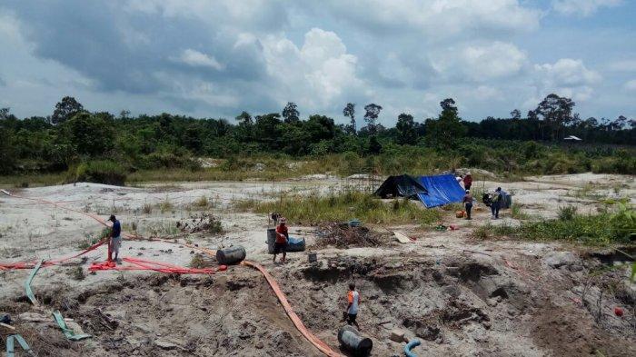 Ditreskrimsus Polda Babel Tangkap Pelaku Tambang Ilegal di Kawasan Hutan Konservasi Mangkol
