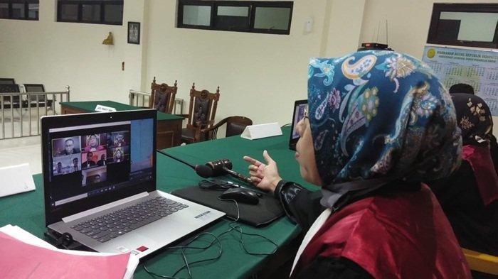 Kejari Bangka Selatan Sudah Selesaikan 25 Perkara Melalui Sidang Video Conference