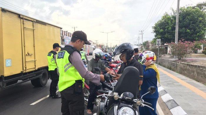 Sepekan Operasi Zebra di Kabupaten Bangka, Pelanggaran Banyak Ditemukan, 71 Pengendara Ditilang