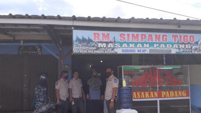 Satpol PP Bangka Imbau Pemilik Rumah Makan Pasang Tirai Selama Ramadan