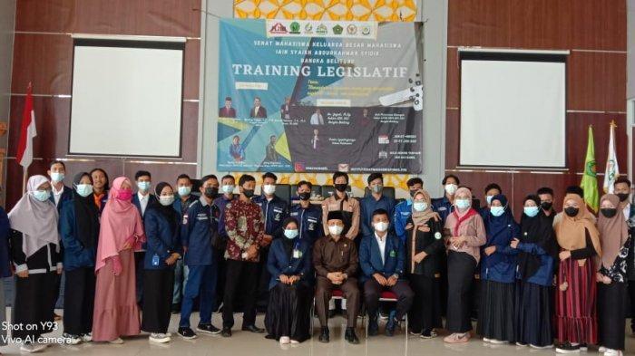 Senat Mahasiswa IAIN SAS Babel Sukses Gelar Training Legislatif I