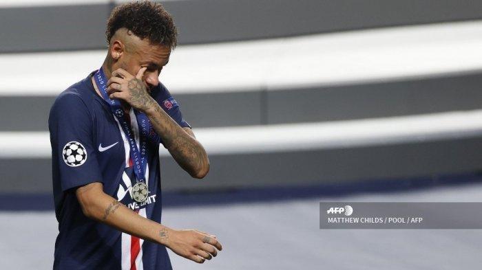 Tangisan Neymar seusai Kekalahan Tipis PSG atas Bayern Munchen