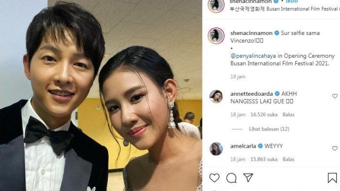Artis Cantik Indonesia Ini Berhasil Berduaaan dengan Song Joong Ki, Ini Komentar Nyeleneh Para Artis