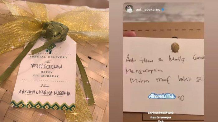 Jelang Hari Raya Idul Fitri, Sejumlah Artis dan Selebgram Mulai Saling Kirim Bingkisan Idul Fitri