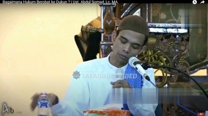 Tahukah Anda Hukum Berobat ke Dukun, Begini Penjelasan Ustaz Abdul Somad