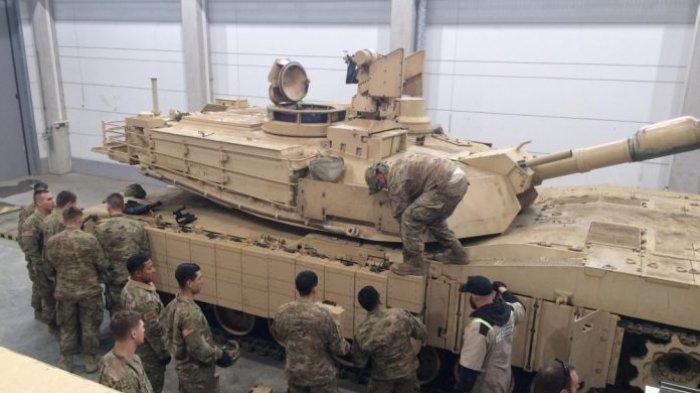 Seorang Tentara Angkatan Darat Tewas Terlindas Tank dalam Latihan Perang