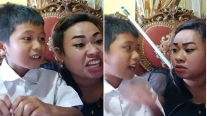 Sosok Tante Lala, Emak Viral yang Ajarkan Anaknya Menghafal Pancasila, Sibuk Punya Dua Pekerjaan