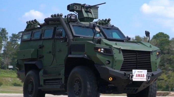 Tarantula, Kendaraan Taktis pertama buatan Malaysia