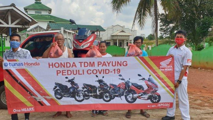 Masyarakat Payung Menyambut Gembira CSR Honda TDM Payung, Yarni: Ini Sangat Membantu