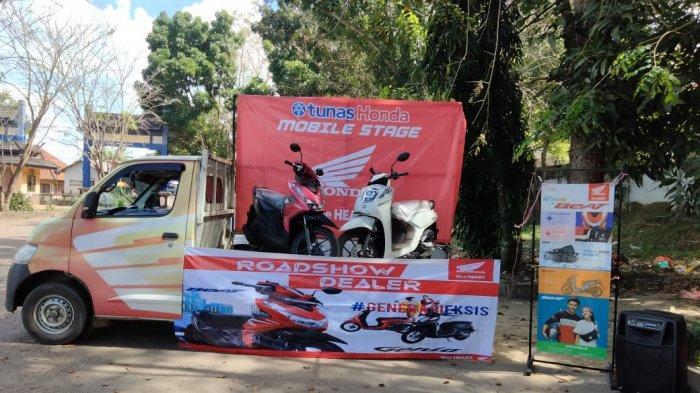 TDM Toboali - Honda Tunas Dwipa Matra (TDM) Toboali mengadakan Roadshow.