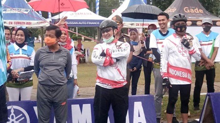 95 Kelompok Sepeda Ikuti Kegiatan Adu Sepida On Time Pemprov Bangka Belitung