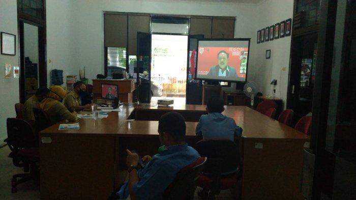 Dalam Sehari, Pegawai DKPUS Bangka Belitung Ikuti Tiga Webinar