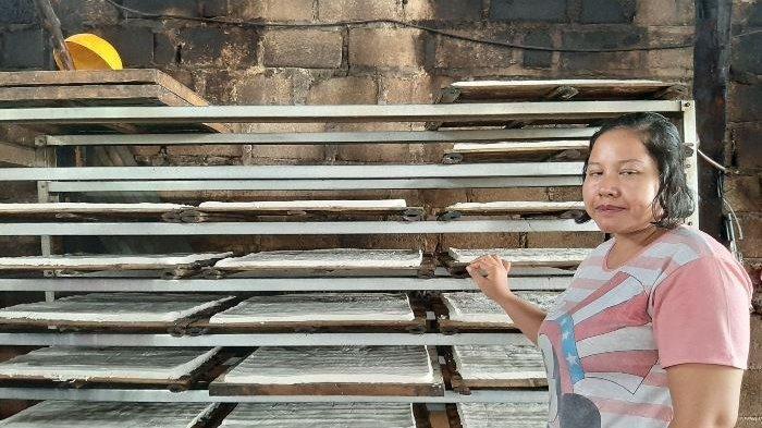 Siti Nurhayati Pengrajin Tahu dan Tempe di Sumberejo, Pangkalpinang
