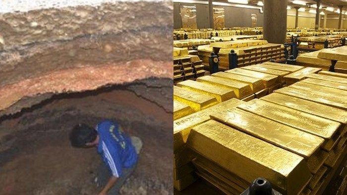 Pria Ini Temukan Jalan Rahasia Masuk Ke Gudang Emas Terbesar di Dunia, Reaksinya Tak Terduga