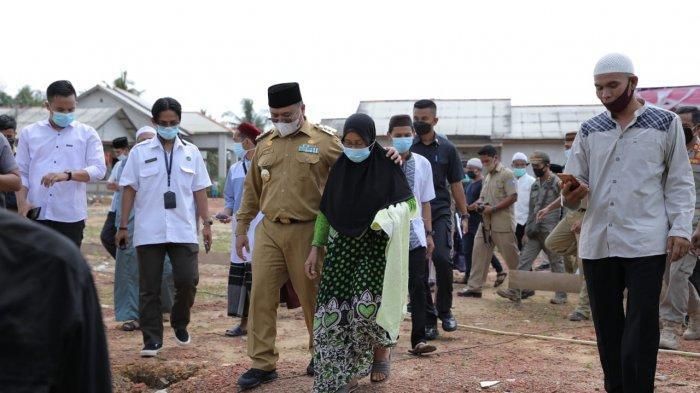 Ibu Subaidah Setuju Rumahnya Dibangun Masjid, Erzaldi Siap Bangun Ganti Lengkap Fasilitas