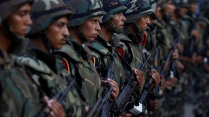 Tentara Mesir.