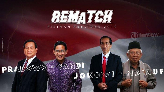 Selisih Semakin Tipis, ini Hasil Survei Baru Elektabilitas Jokowi Vs Prabowo Hari Terakhir Kampanye