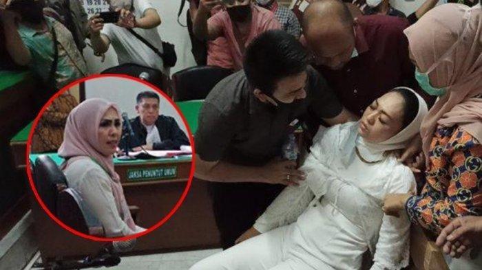 Ibu Kombes di Medan ini Dinyatakan Berutang Rp 70 Juta, Terdakwa Febi Jatuh Pingsan di Ruang Sidang