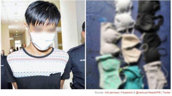 Pria Muda Simpan 58 Potong Pakaian Dalam Wanita, Mengaku Tidak Bersalah, Tapi Asal Usulnya Tak Jelas