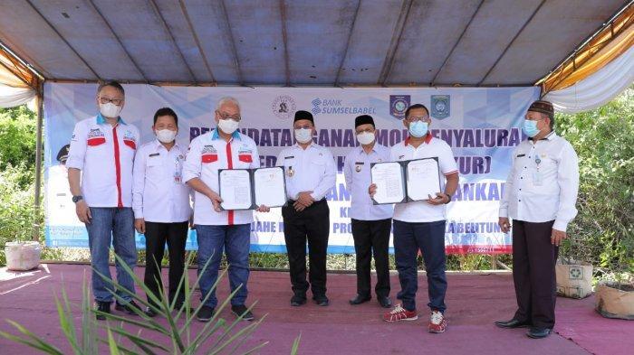 Gubernur Bangka Belitung Berikan Dukungan, Super Tim Jahe Merah Bangka Tengah Bersyukur dapat KUR