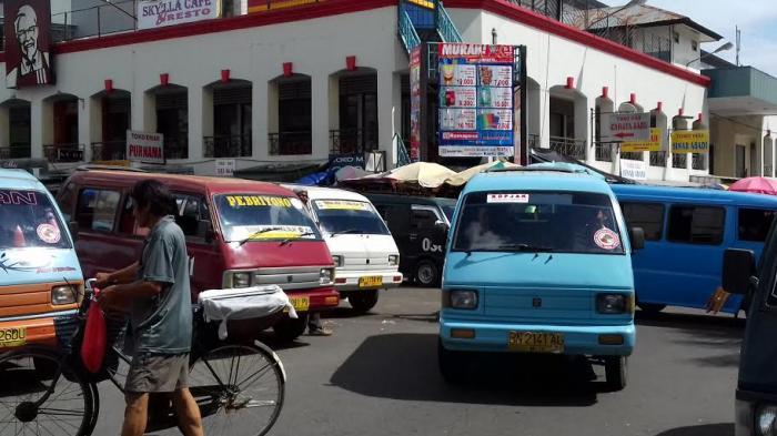 Kalo Bandel Sopir Angkot Juga Kena Tilang