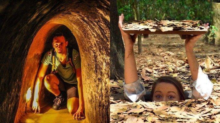 Menelusuri Terowongan Cu Chi Titik di 'Segitiga Besi' yang Jadi Saksi Bisu Sejarah Perang di Vietnam
