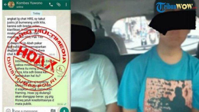 Pelaku Penyebar Chat Palsu 'Kapolri-Kabid Humas Polda Metro Jaya' Singgung Habib Rizieq Ditangkap
