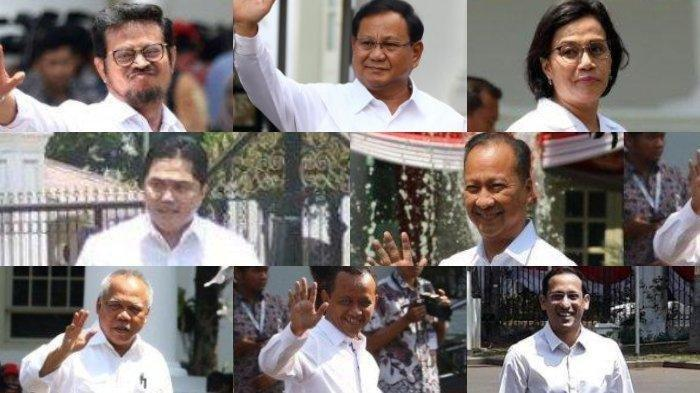 Segini Ternyata Gaji & Tunjangan Menteri, Wishnutama & Nadiem Makarim Kabinet Jokowi, Bandingkan DPR
