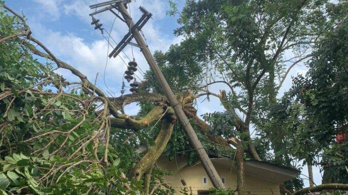 Angin Kencang 11 Rumah di Pangkalpinang Rusak, BPBD Siapkan Bantuan Material