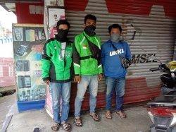 Keluhan Driver Ojol di Pangkalpinang di Tengah Pandemik Covid-19,Penghasilan Menurun Drastis