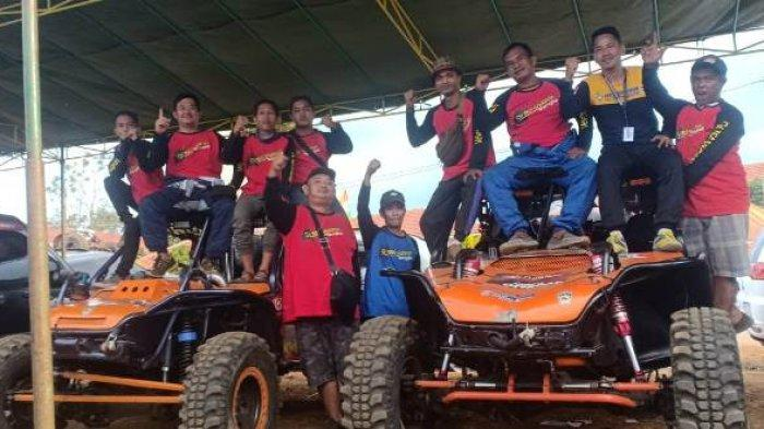 Offroader Bangka Ambarawa Gondol 3 Tropy Kejurnas dan Kejurda Piala Pangdam II Sriwijaya
