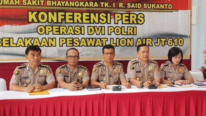 Info Terbaru Lion Air JT610 - Dua Jenazah Teridentifikasi dan Perkiraan Rampungnya Pemeriksaan DNA