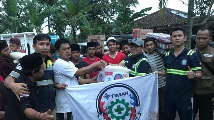 Tim ERG PT Timah Tbk Turun Bantu Korban Banjir Jakarta dan Banten