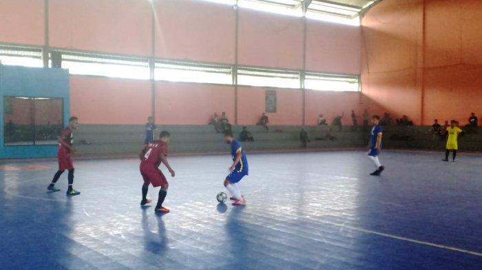 Kebobolan Duluan Tak Membuat Tim Futsal Sultra Ciut