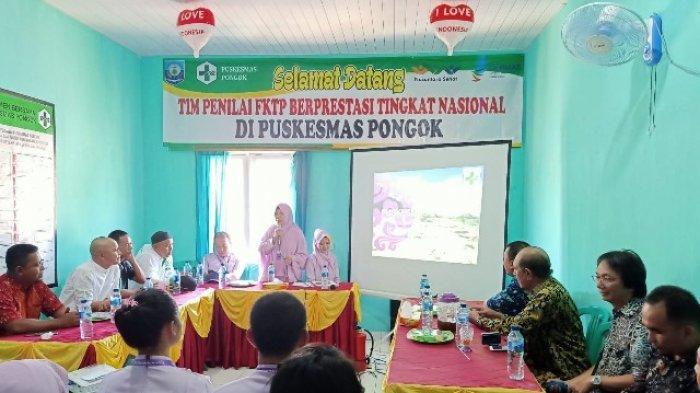 Puskesmas Kepulauan Pongok Masuk Nominasi Nasional