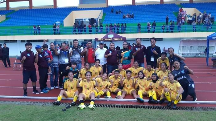 Kalahkan PS Sumatera Utara 2-0, PS Bangka Belitung Berhasil Lolos PON XX Papua