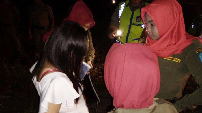 Tim Gabungan Ciduk Pasangan Bawa Miras dan Taman Kota Sungailiat Jadi Tempat Mabuk
