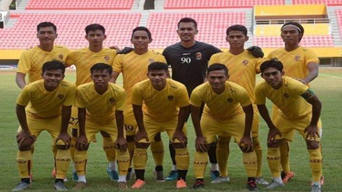 Tim Sriwijaya FC kala menjalani laga ujicoba kala berhadapan dengan PS Pertamina