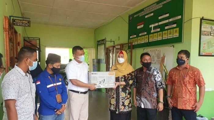 Wakil Bupati Bangka Selatan Terima Bantuan Bidang Lingkungan dari PT Timah
