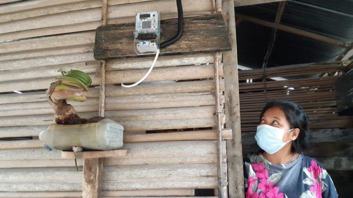 30 Unit KWH Meter Bagi Masyarakat Tanjung Gunung, Fitriani: Bersyukur dan Terimakasih ke PT Timah