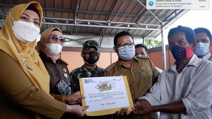 PT Timah Tbk kembali memberikan pelayanan kesehatan gratis kepada masyarakat Bangka Selatan melalui mobil sehat di Kelurahan Tanjung Ketapang, Kecamatan Toboali, Bangka Selatan